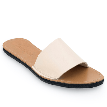The Linda Women's Leather Slide Sandal