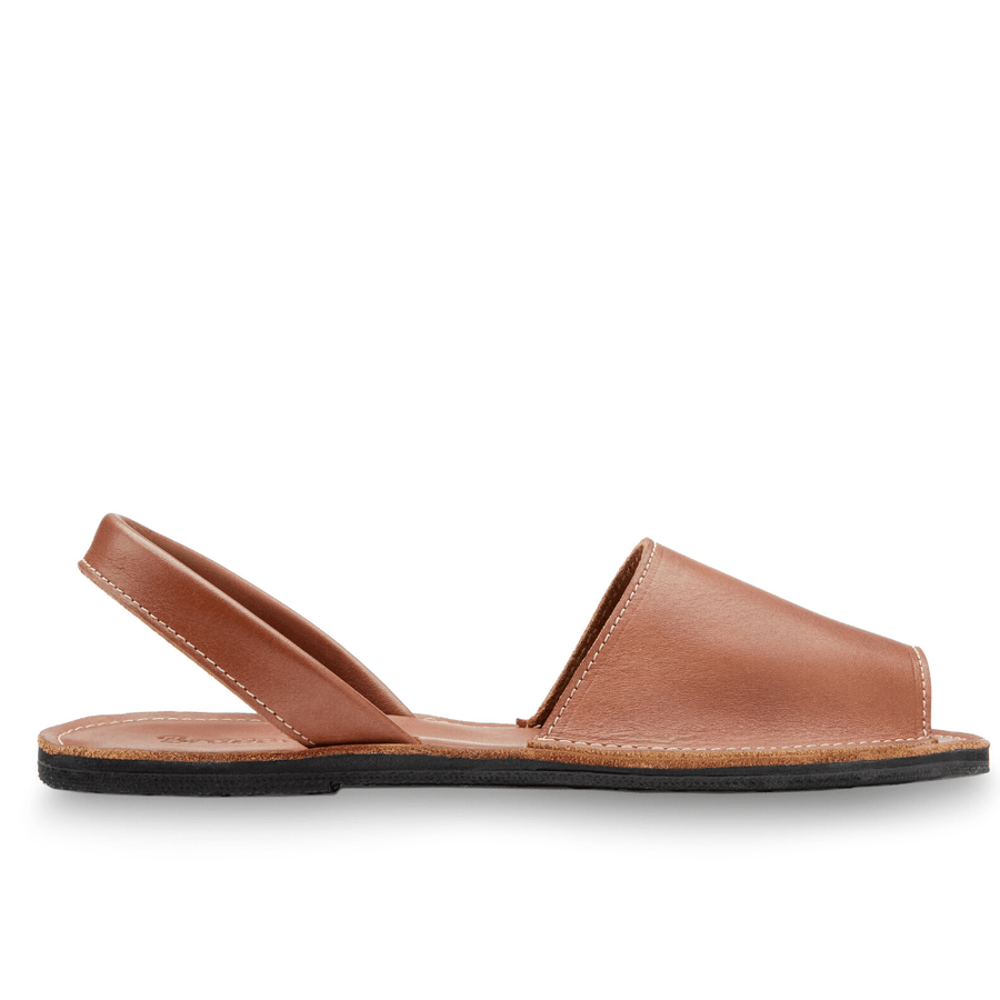 women's leather avarca sandal