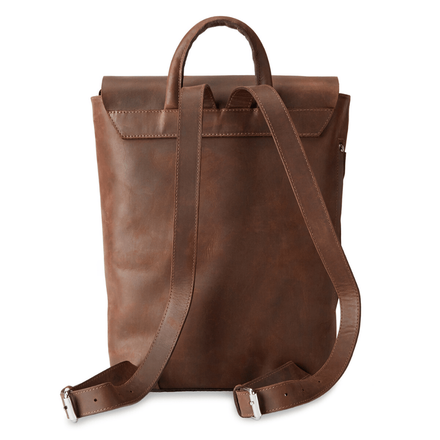 Camino eco leather travel backpack