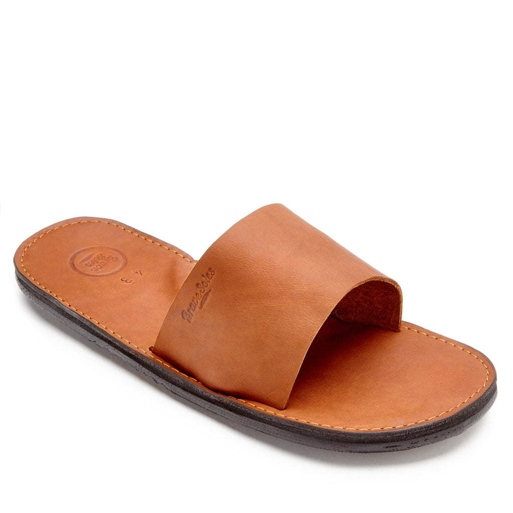 The Antonio Leather Slide Sandal is for the guy who is into comfort without compromising style.