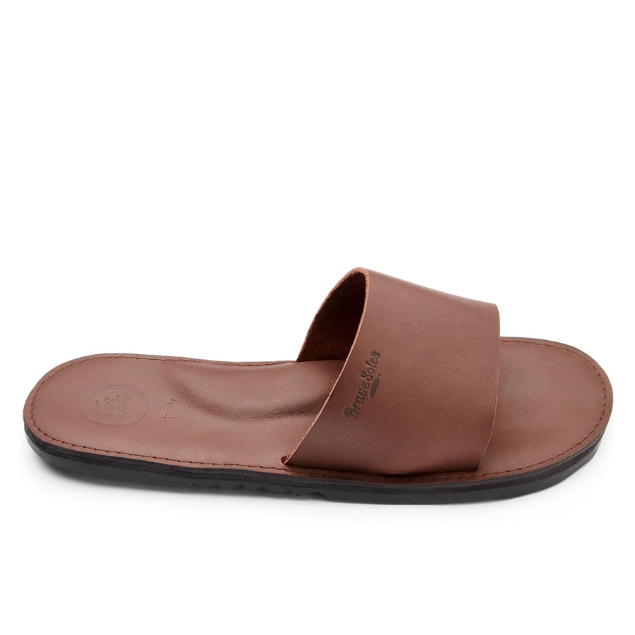 Antonio men's leather slide sandal