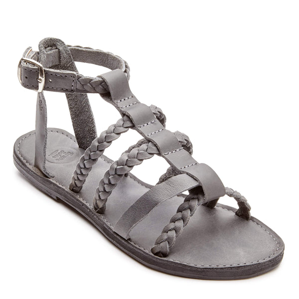 he Kaitlin leather sandal is full of personality. Like her namesake, this sandal is sassy, funky and always up for a great party