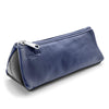 The Triangulo Pencil case hancrafted mix of recycled leather and tire inner tubes