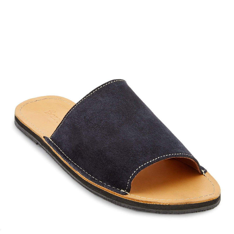 Oceana leather slide sandal