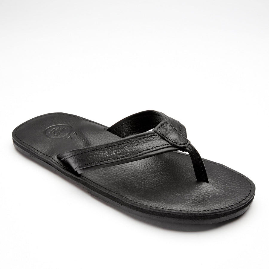 Brave Soles Leather mens flip flops
