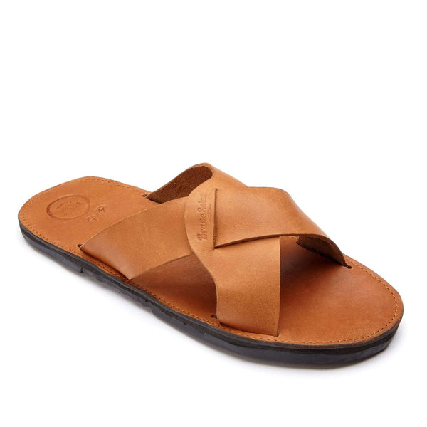 The Santiago is a fine crafted men's leather sandal that is all about comfort and style.