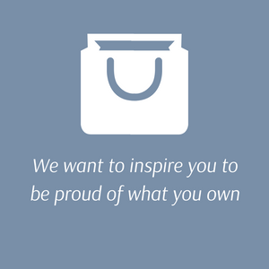 Be proud of what you own