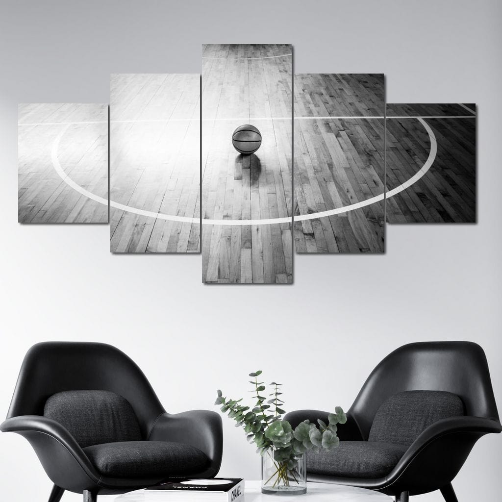 Basketball Dreams Multi Panel Canvas Wall Art - NicheCanvas