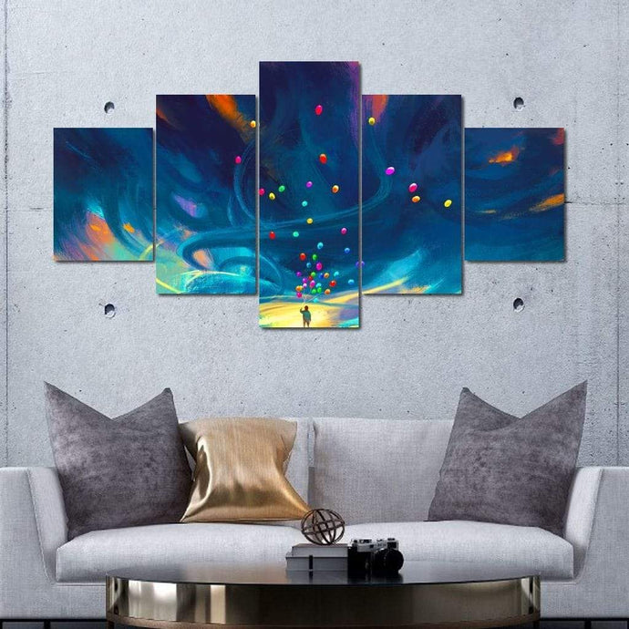 Childhood Celebration Multi Panel Canvas Wall Art - NicheCanvas