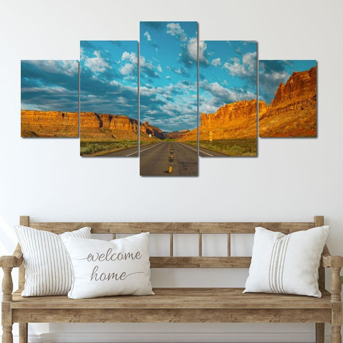 Canyon Road - NicheCanvas