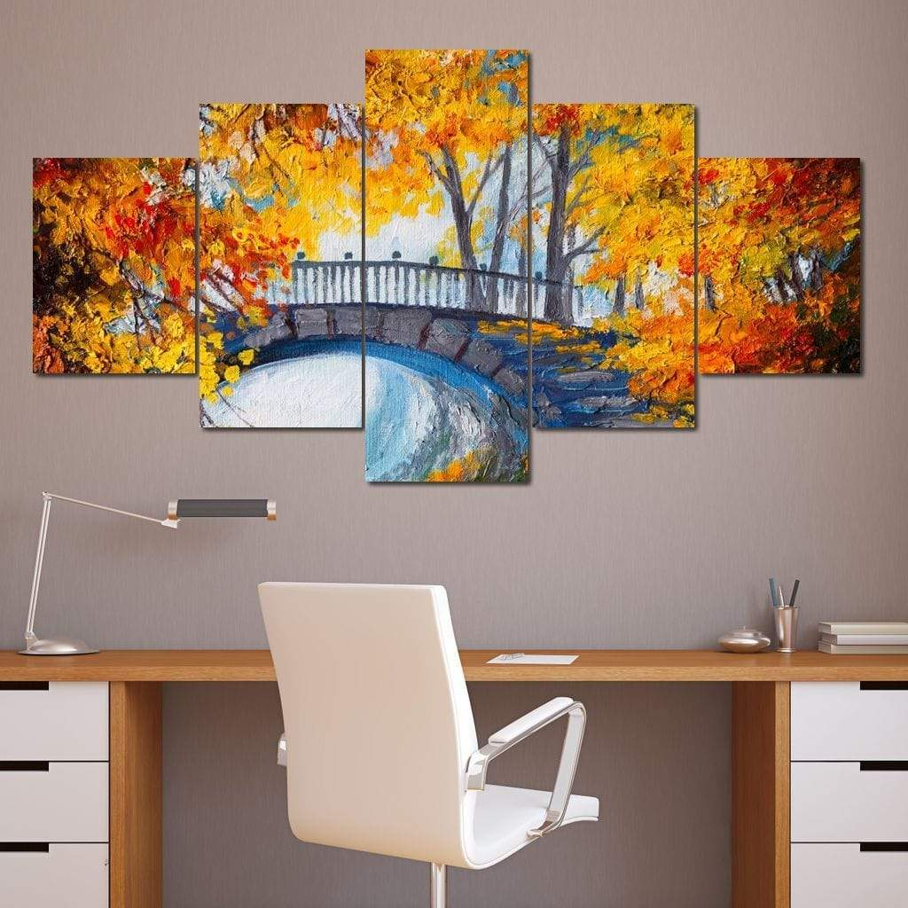 Delights of Autumn Multi Panel Canvas Wall Art - NicheCanvas