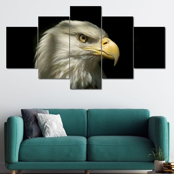 Great Eagle Multi Panel Canvas Wall Art - NicheCanvas