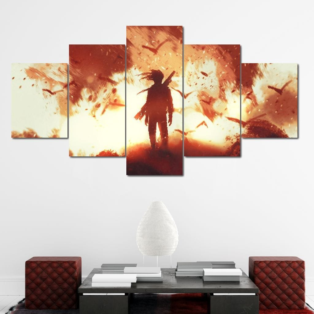 Armageddon Multi Panel Canvas Wall Art - NicheCanvas