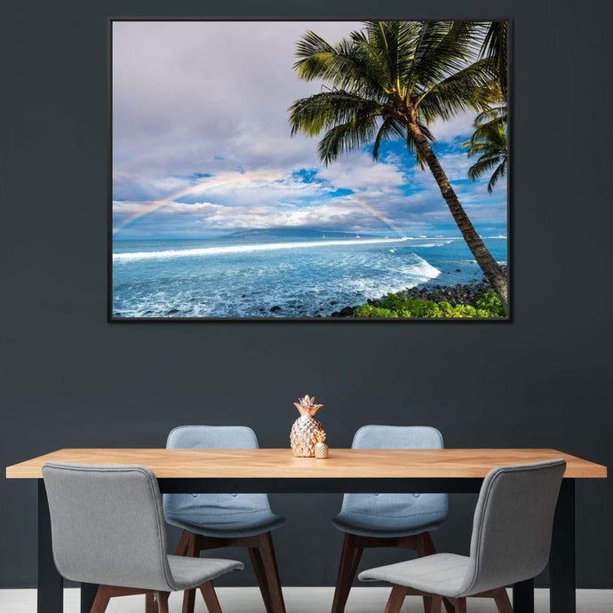 Hawaiian Landscape - Lucas Moore Large Floating Frame