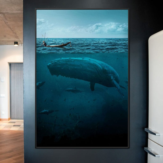The Big Whale - Milos Karanovic - NicheCanvas