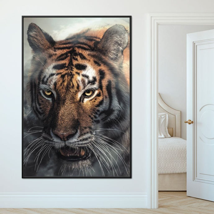 Tiger Mist - Zenzdesign Multi Panel Canvas Wall Art - NicheCanvas