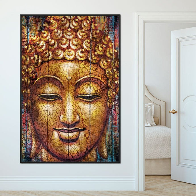 Zen Buddha Multi Panel Canvas Wall Art - NicheCanvas