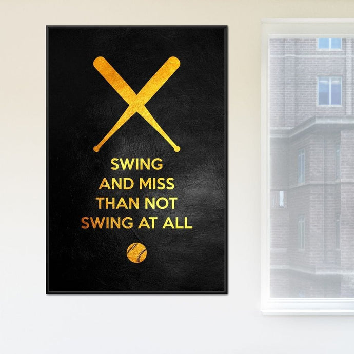 Swing and Miss 3 - ABConcepts - NicheCanvas