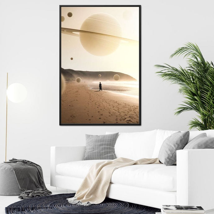 Solar Distancing - Alexgraphex Multi Panel Canvas Wall Art - NicheCanvas