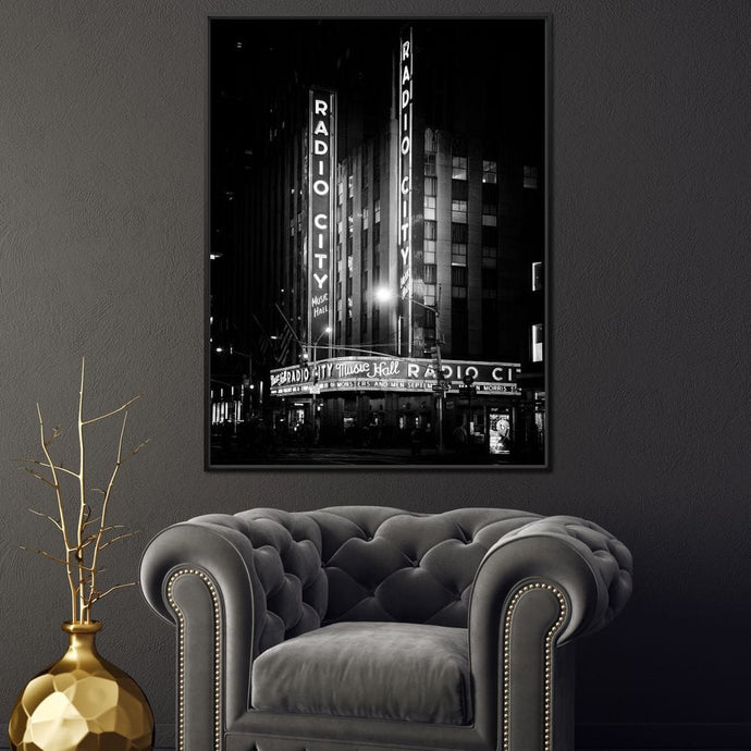 The Radio City Music Hall - Philippe Hugonnard - NicheCanvas