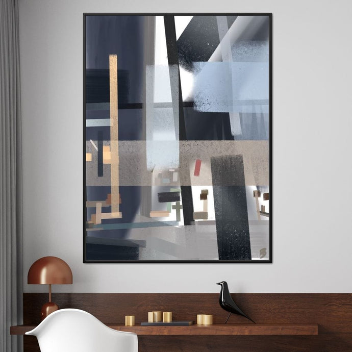 Glass and Tubular Steel - Andy Brackpool - NicheCanvas