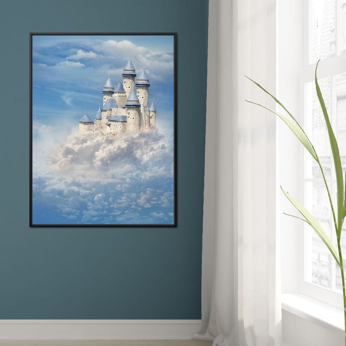 Castle in the Clouds - NicheCanvas