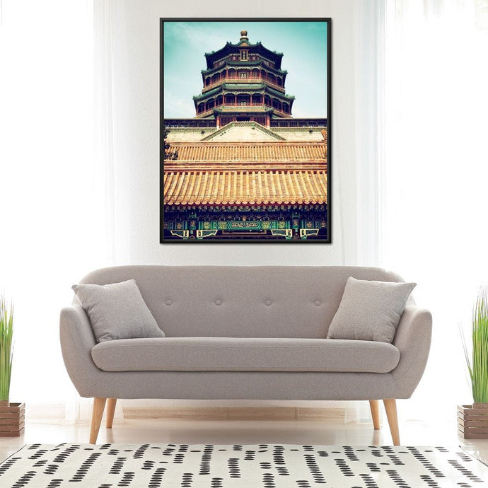 Summer Palace Temple - Philippe Hugonnard - NicheCanvas