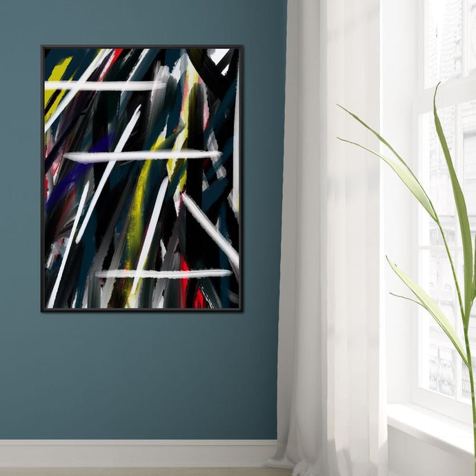 Abstract Cityscape 1 - Andy Brackpool - NicheCanvas