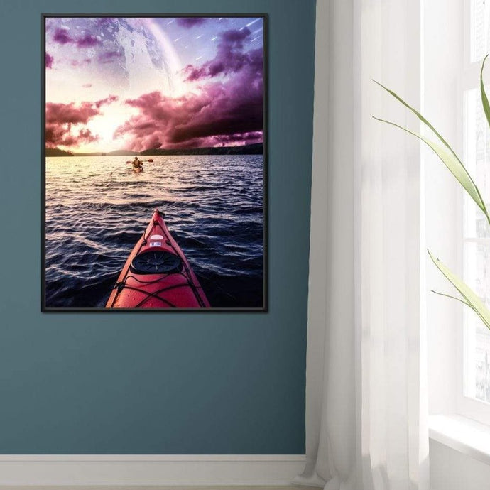Elysium 2 - Alexgraphex Multi Panel Canvas Wall Art - NicheCanvas
