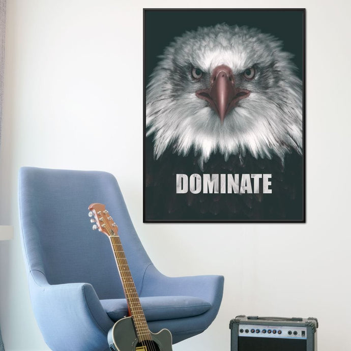 Dominate Like An Eagle - ABConcepts - NicheCanvas