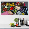 Load image into Gallery viewer, Tapas Table Multi Panel Canvas Wall Art - NicheCanvas