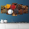 Load image into Gallery viewer, World Spices Multi Panel Canvas Wall Art - NicheCanvas