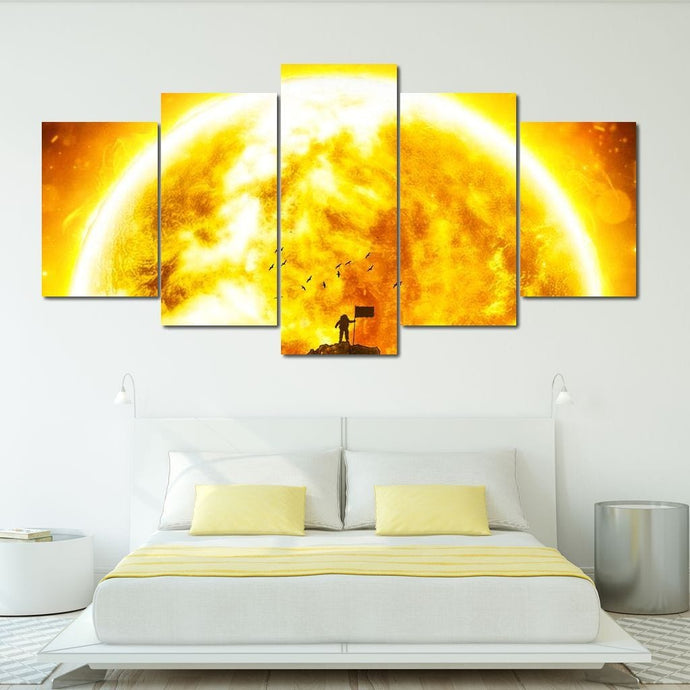 End of the World - Alexgraphex Multi Panel Canvas Wall Art - NicheCanvas