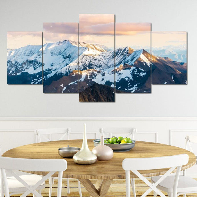 Alaskan Mountains - Lucas Moore Huge Canvas