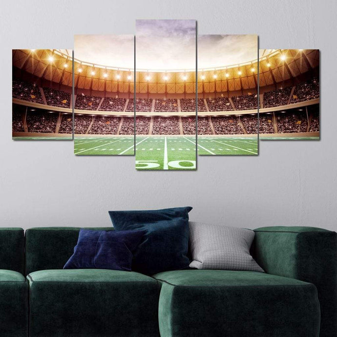 Sunday's Heroes Multi Panel Canvas Wall Art - NicheCanvas