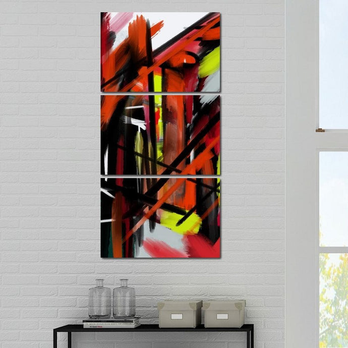 Abstract Cityscape - Andy Brackpool - NicheCanvas