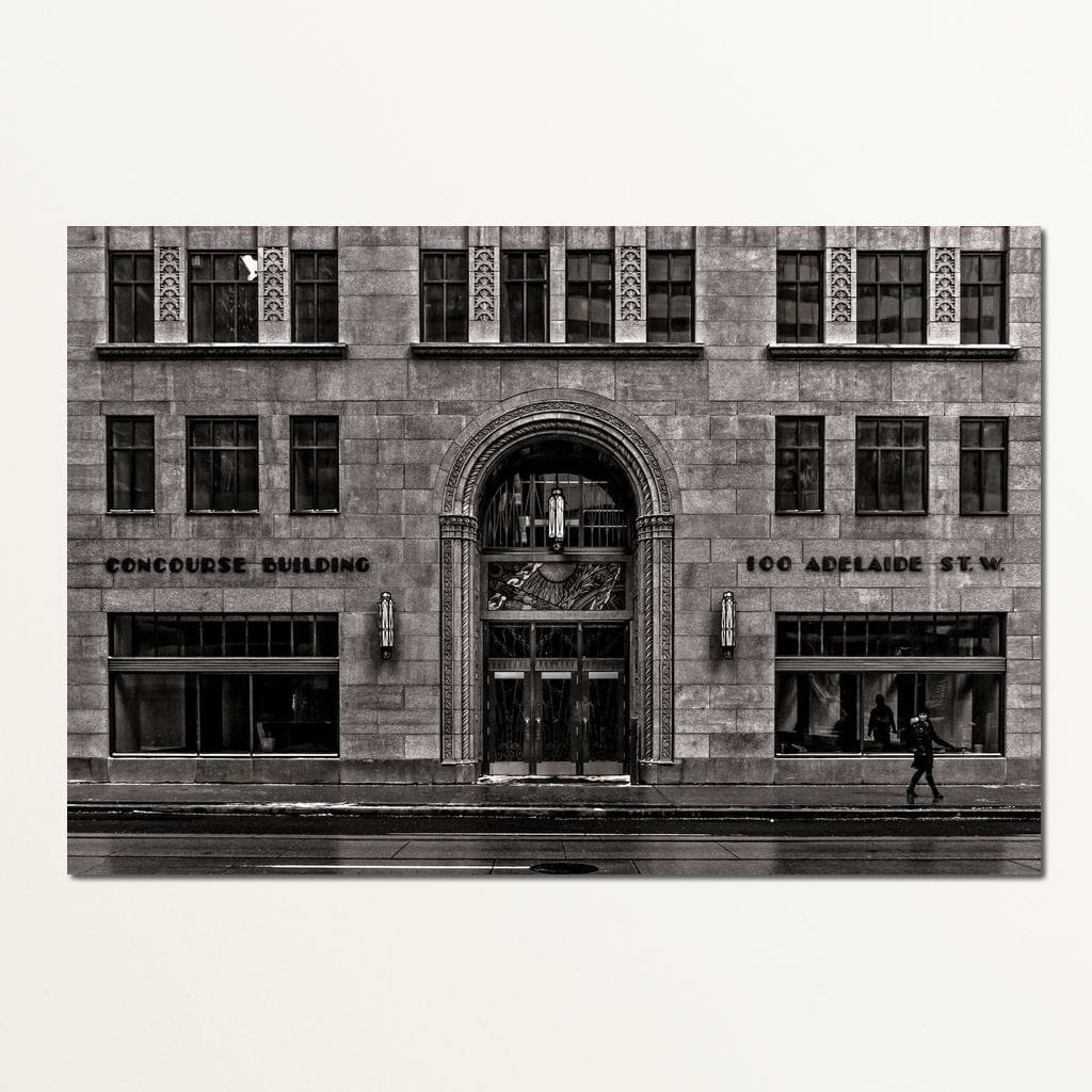 No. 100 Adelaide St. W. - Brian Carson Multi Panel Canvas Wall Art - NicheCanvas