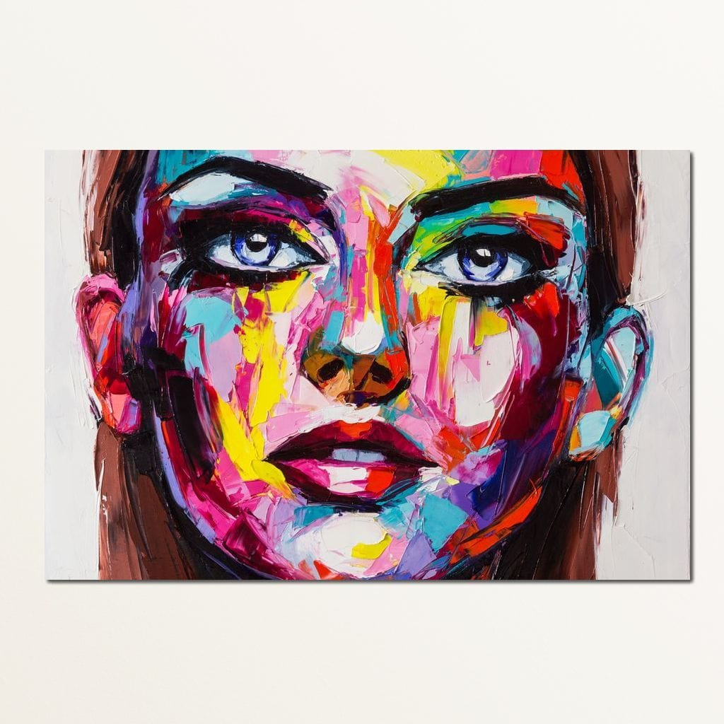 Cheryl Portrait Multi Panel Canvas Wall Art - NicheCanvas