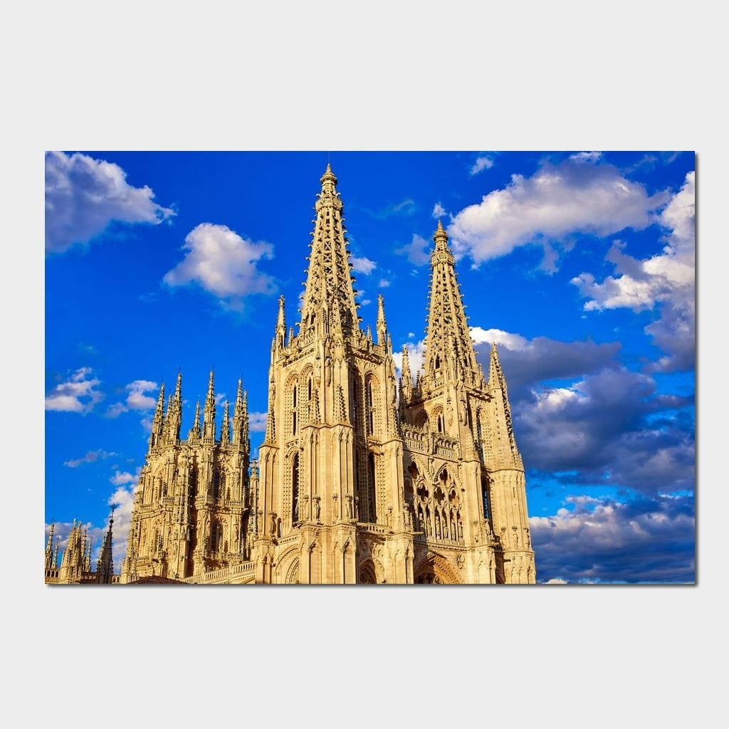 Burgos Cathedral Small Canvas