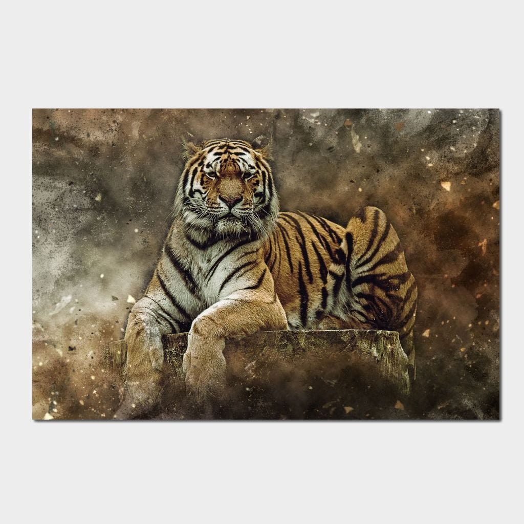 Emperor of the Jungle - Johanjjf Multi Panel Canvas Wall Art - NicheCanvas