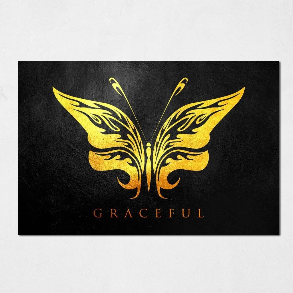 Butterfly Graceful - ABConcepts - NicheCanvas