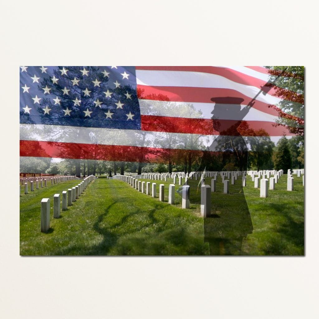 Arlington National Cemetery Multi Panel Canvas Wall Art - NicheCanvas