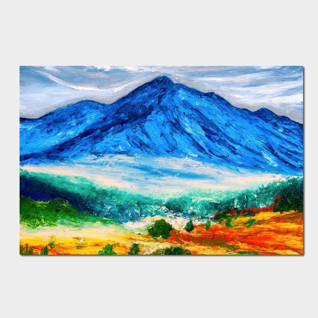 El Nevado de Toluca - Chiara Magni Small Canvas
