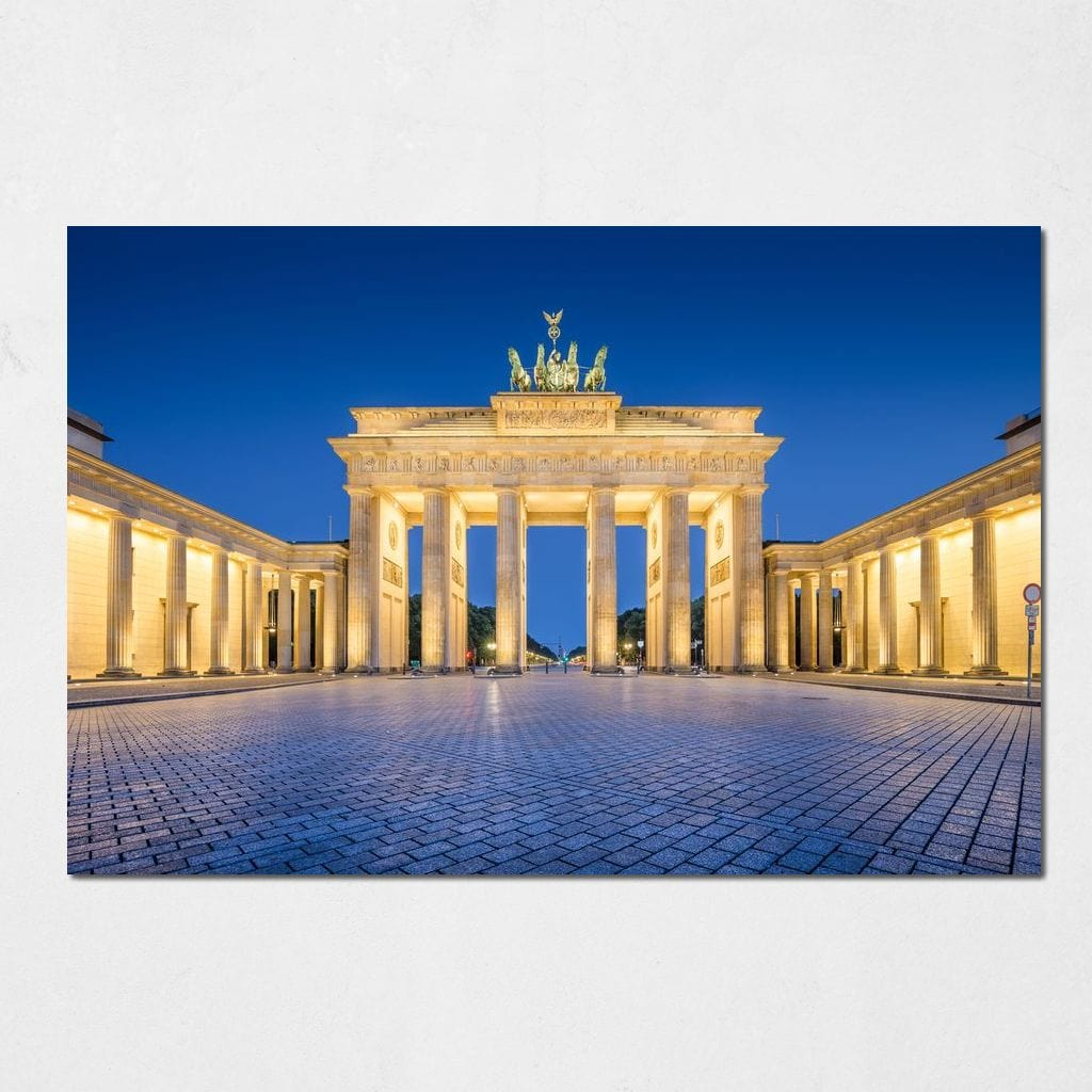 Brandenburg Gate Small Canvas
