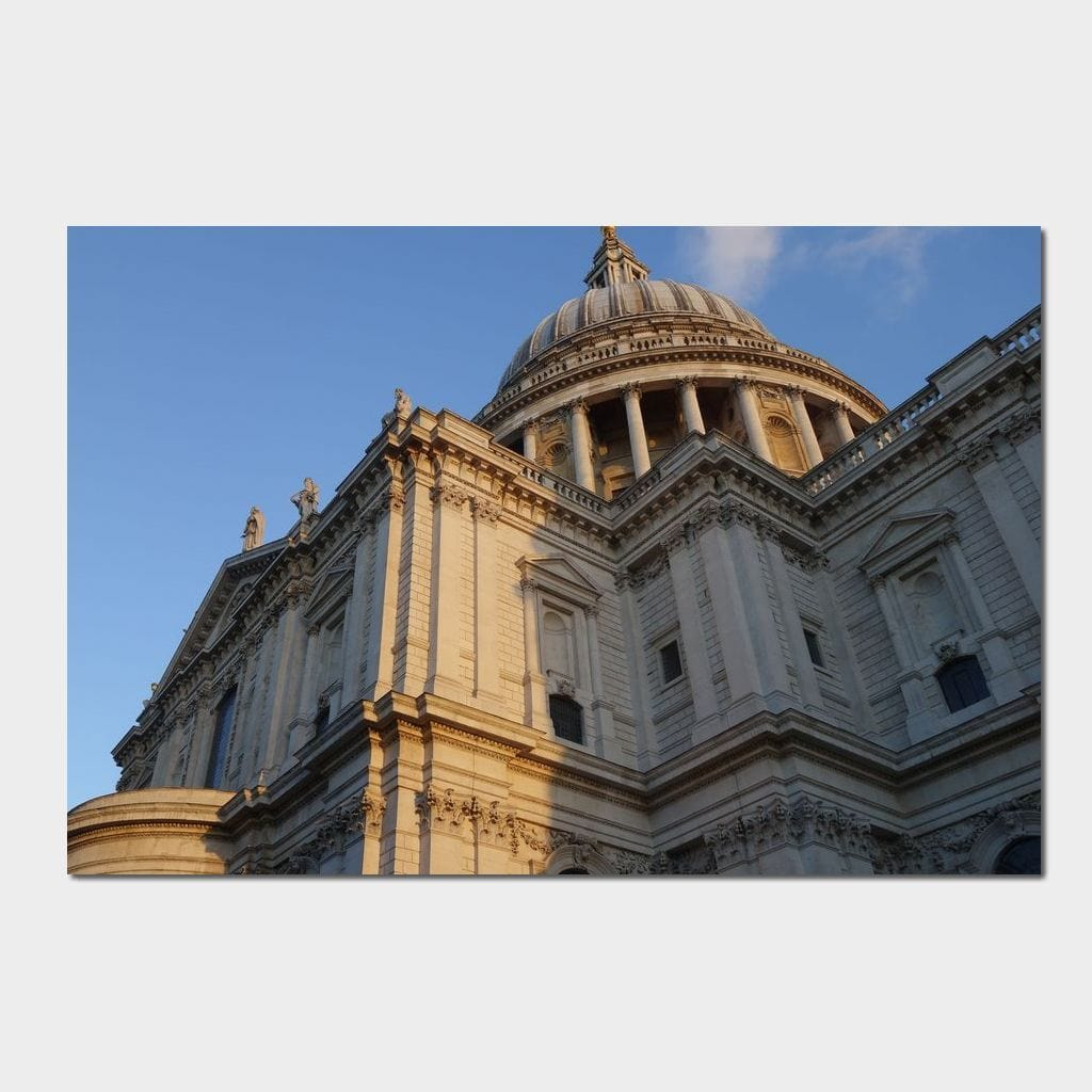 St Paul's Cathedral - Corinne Gravel Multi Panel Canvas Wall Art - NicheCanvas