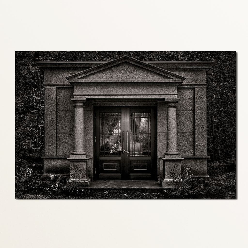 Tombstone Shadow - Brian Carson Multi Panel Canvas Wall Art - NicheCanvas
