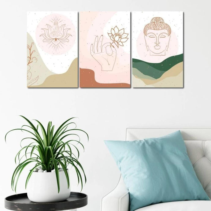 Pastel Buddhism Bundle - NicheCanvas