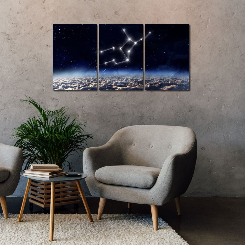 Virgo Horoscope Constellation - NicheCanvas