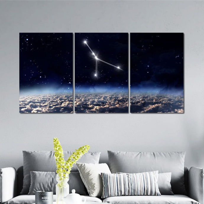 Cancer Horoscope Constellation - NicheCanvas
