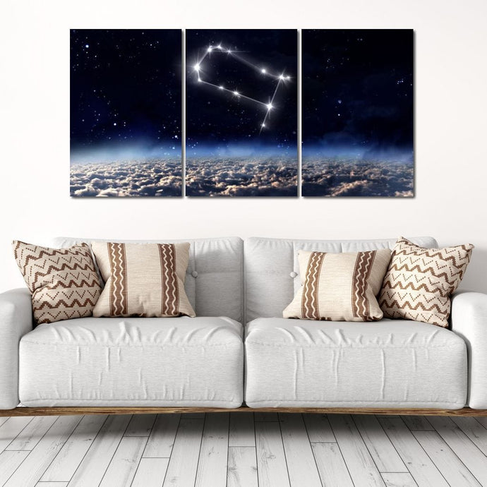 Gemini Horoscope Constellation - NicheCanvas